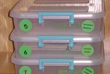 Homeschool Workboxes