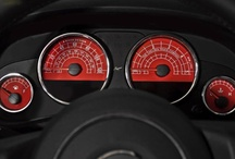 The Dash & Speedometer Board / by Josh Galka