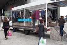 Mobile fashion trucks