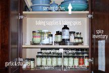Organizing-Kitchen & Pantry