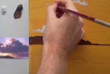 pittura acrilico