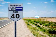 Mítica Ruta Nacional 40 / Mítica Ruta Nacional 40 en Argentina.