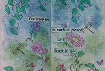 ~The art journal of mine~ / This is my bible verses art journaling