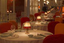 Restaurant Design / Unique restaurant design around the world featuring Neoz Cordless Table Lamp.