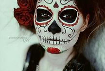 BodyPaint MexicanSkull