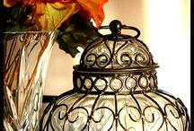 candles, lanterns