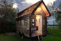 Tiny Houses and Alternative Living / Tiny Houses, Eco Friendly Homes,Off rid and Alternative Living. One day we'll build our dream home. We've bought the land....almost!  A collection of ideas for survival without mod cons.