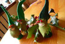 Peg Doll/Gnomes & Houses