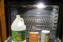 Para limpiar el horno