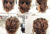 easy hairstyles for medium curly hair