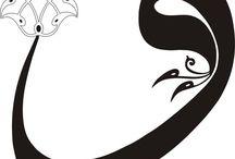 ebru ve kaligrafi