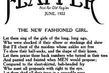 Flapper girls / 1920 's fashion
