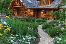 Log houses/ Rönk- és gerendaházak