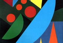 Artists: Auguste Herbin / Auguste Herbin (April 29, 1882 - January 30/31 1960) was a French abstract painter. / by Kwalitisme