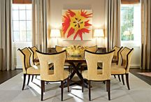 High Point Market / Allison Paladino Collections Furniture with EJ Victor Rugs with New River Artisans Art with Wendover Art Group