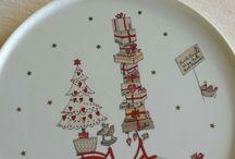 Karácsonyi  kerámiák