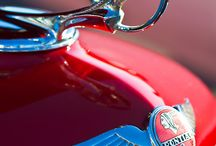 """Just part of the """"HOOD"""" / Classic Hood Ornaments from years way back that were made with love. / by House of Insurance"""