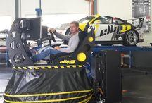 Sébastien Loeb Racing et ellip6 / Le team Sébastien Loeb Racing et Sébastien Loeb, utilisent les simulateurs ellip6 pour perfectionner leur apprentissage des circuits