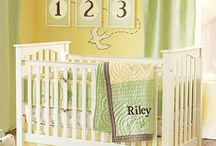 Yellow And Green Baby Room
