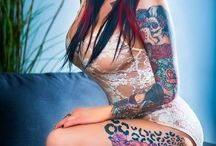 Womens and tattooes