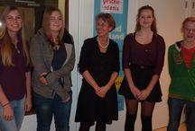 Verhalenwedstrijd 2014 / Het Waterlands Archief hield een verhalenwedstrijd voor scholieren van het Don Bosco College uit Volendam en het Jan van Egmond Lyceum uit Purmerend. 31 oktober werden de winnaars bekend gemaakt en vervolgens gaf auteur Judith Koelemeijer een workshop Verhalen schrijven.