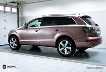 Naša práca - carwrap / Pozrite sa na car wrapy z našej dielne!