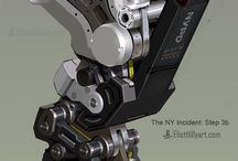 Hard Surface References / Here I will pin references for hard surface designs like mechs, tanks, trains and so forth. www.oddcustoms.co.za #mechdesign # hardsurface #vehicles