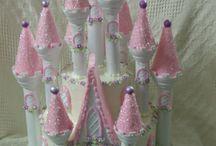 Castle cake wilton