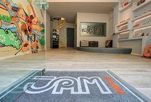 JAM pedals showroom / workshop / Photos of the JAM pedals showroom / workshop
