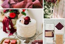 Colors - Marsala - Pantone Color of the Year 2015 / by The Big Fat Indian Wedding®