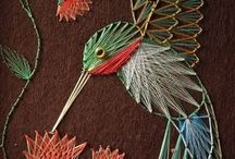 string art ideas for mom / by Stephany Leroux