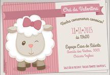 Festa aniversário tema ovelha ovelhinha menina