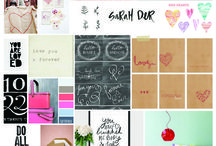 Inspired By- Mood Boards
