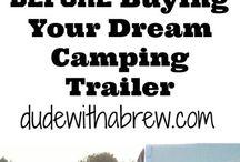 RV Camping / #RV #RVing #camping #glamping