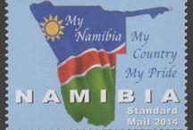 New stamps issue released by STAMPERIJA | No. 375 / NAMIBIA 2014 Code: NAM14103a-NAM14104d