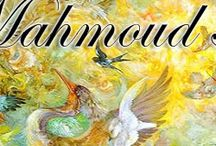 IL -Persia or Iran  miniature ,  manuscrpts  etc / Artista  Mahmud Farshchian, Irán __Mohammad Bagher Aghamiri __Mohammad Reza Sharifi