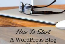 Starting a Blog / Blogs that help you to start your own blog