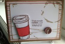 Perfect Blend of Cards and Friends / Love my cocoa... love my coffee and cocoa lovin' friends...