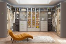 Modern Americana Master Closet / Walk in master closet for her