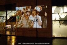 Projection Hire / Projector hire and projection Screen hire in Dundee, Angus, Fife and Perth - by Steve Page: www.dundeecentral.co.uk   www.facebook.com/dundeecentral