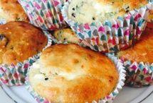 Kahvaltı tuzlu muffin