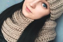My knitting / Knitting, knit, hat, scarf, mittens