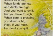 Words of Wisdom / by Hayley Haubner