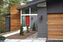 Home exteriors / by Julie Disdale
