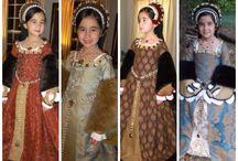 Tudor Costumes / Beautiful reproduction costumes from the Tudor era
