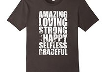 T-Shirts For Loved Ones! / T-shirts for your awesome and loving mom, dad, brother, sister, grandpa, grandma, or your best buddy! They are a big part of your life and they deserve it!