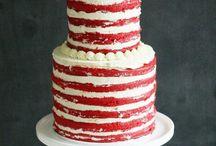 Large naked cakes