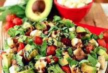 Yummy salads / I love salads!!!