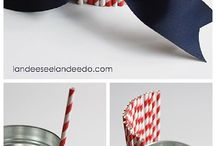 Holiday ~ Patriotic / Decorating and party ideas for patriotic holidays