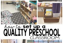 preschool classroom set up